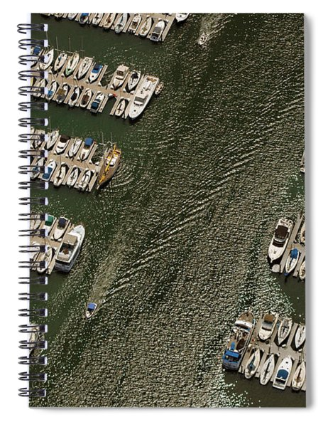 Dingy Ride Spiral Notebook