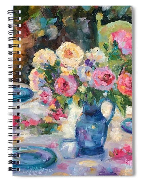 Dining Alfresco Spiral Notebook