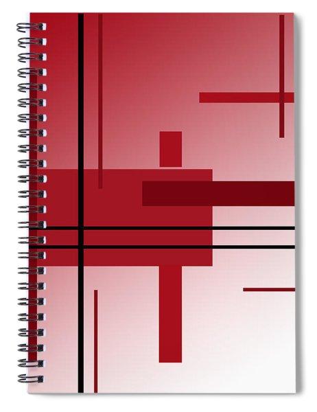 Dinner Alone Spiral Notebook