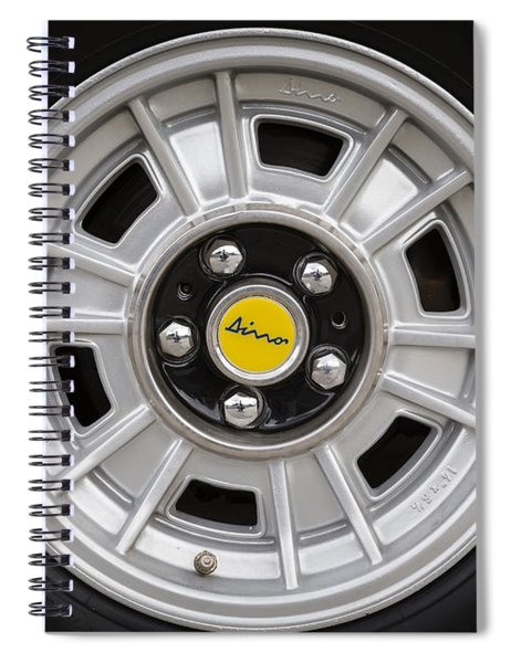 Dino Wheel Spiral Notebook