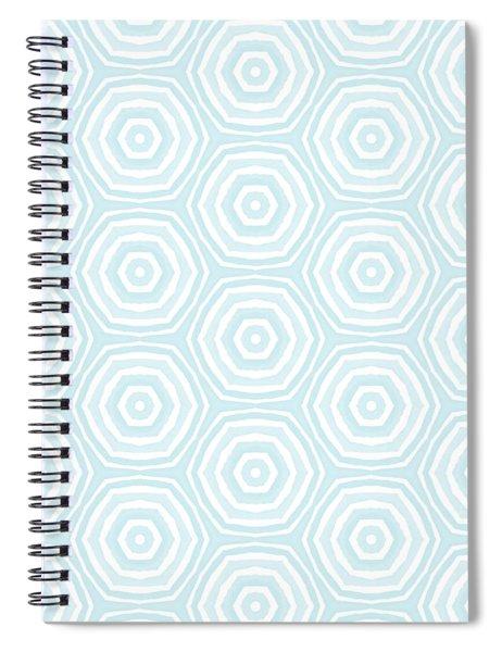 Dip In The Pool -  Pattern Art By Linda Woods Spiral Notebook by Linda Woods