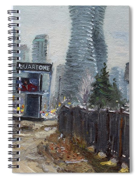 Square One Mississauga Spiral Notebook