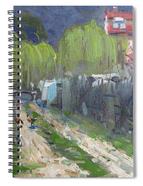 Dirt Road To Elida's Garden Spiral Notebook
