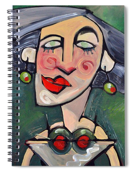 Dirty With Two Olives Spiral Notebook