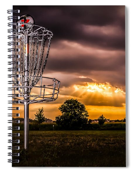 Disc Golf Anyone? Spiral Notebook