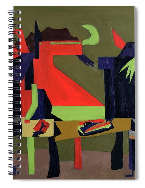 Disfeastitia Spiral Notebook