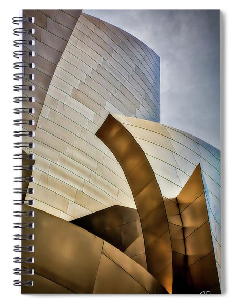 Disney Hall Abstract 3 Spiral Notebook