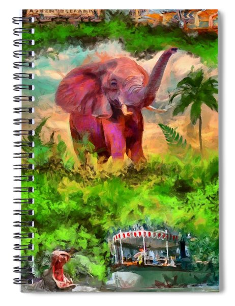 Disney's Jungle Cruise Spiral Notebook