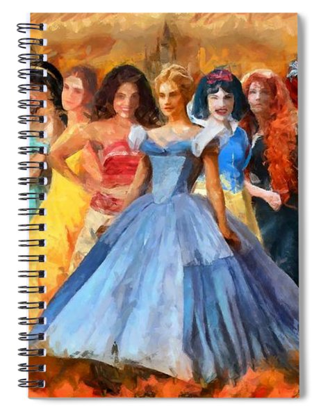 Disney's Princesses Spiral Notebook