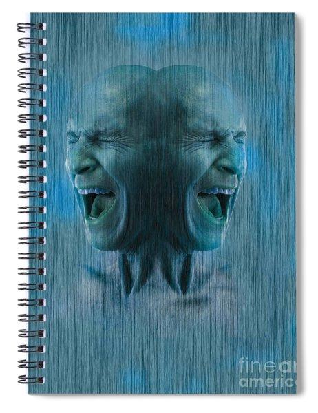 Dissociative Identity Disorder Spiral Notebook
