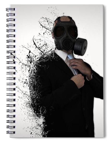 Dissolution Of Man Spiral Notebook