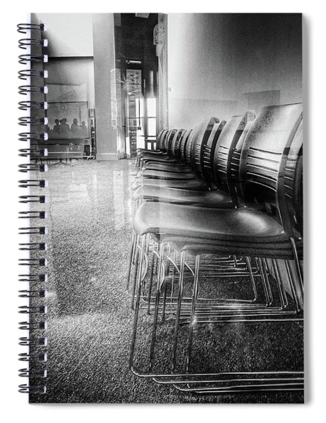 Distant Looks Spiral Notebook
