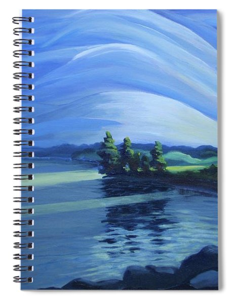 Distant Thunder Spiral Notebook