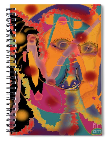 Distressed One Spiral Notebook