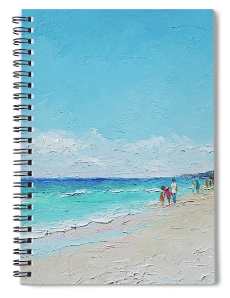 Ditch Plains Beach Montauk Hamptons Ny Spiral Notebook