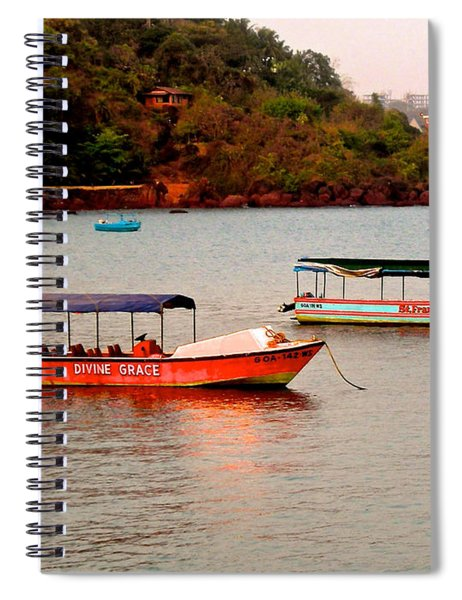 Divine Grace Spiral Notebook