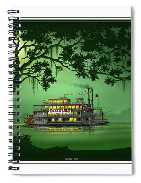 Dixie Lily Spiral Notebook