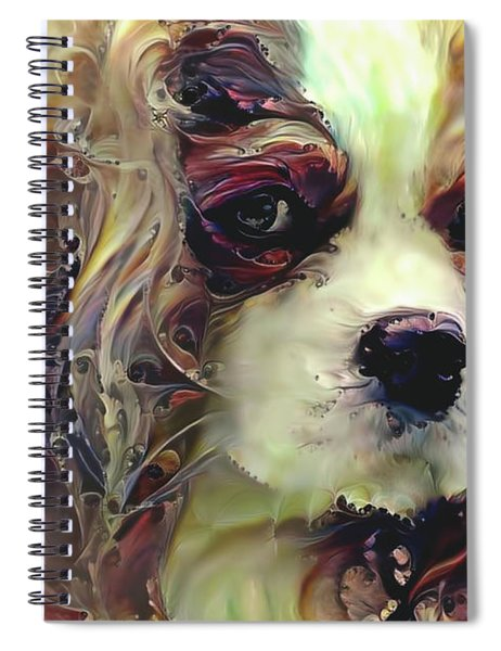 Dixie The King Charles Spaniel Spiral Notebook