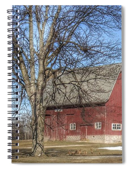 0010 - Dixon Road Red Spiral Notebook