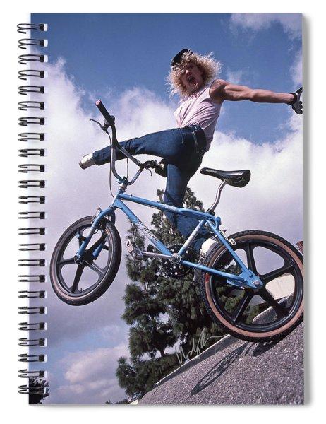 Dizz Hicks 1986 Spiral Notebook