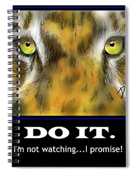 Do It Motivational Spiral Notebook