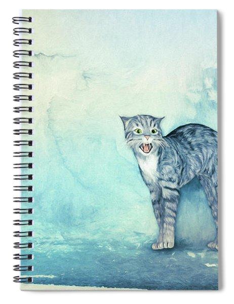 Do Not Come Closer Spiral Notebook