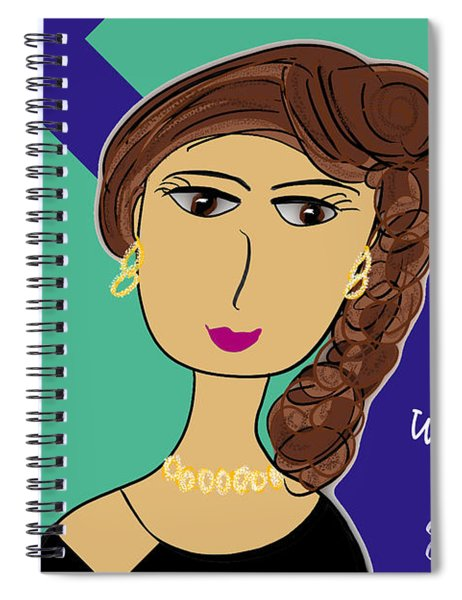 Do What You Do With Gusto Spiral Notebook