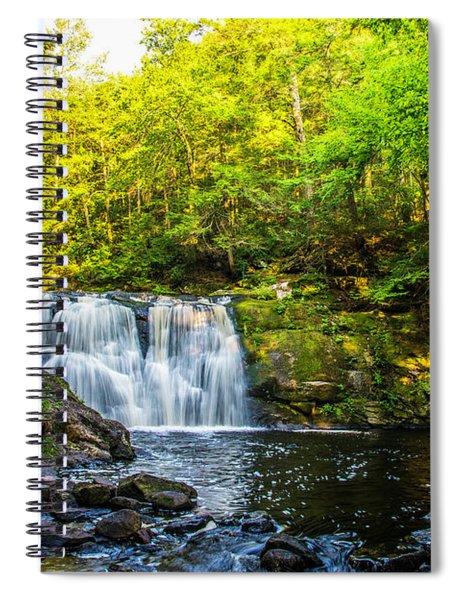 Doans Falls Lower Falls Spiral Notebook
