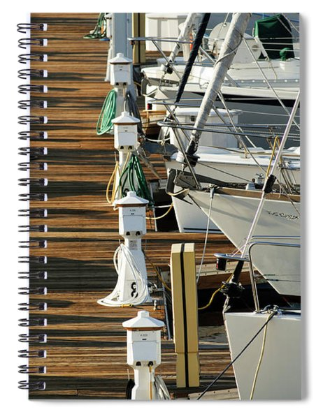 Dock Walk Spiral Notebook