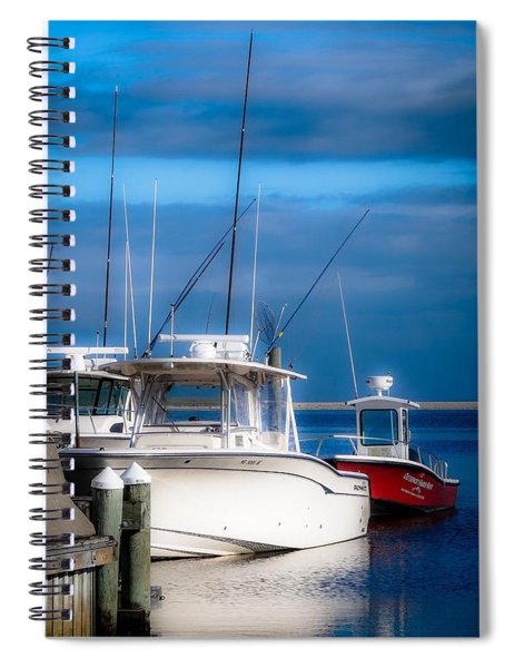 Docked And Quiet Spiral Notebook