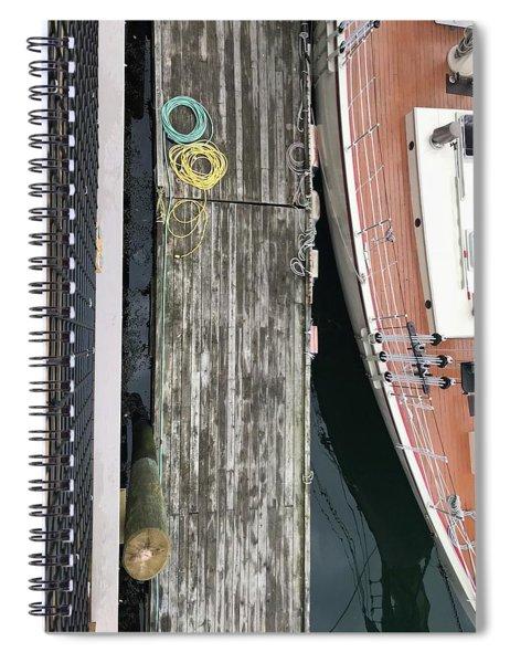 Dockside Schooner Spiral Notebook