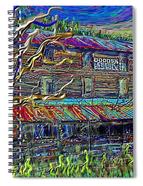 Dodds Creek Mill, ,floyd Virginia Spiral Notebook