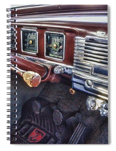 Dodge Dash Spiral Notebook