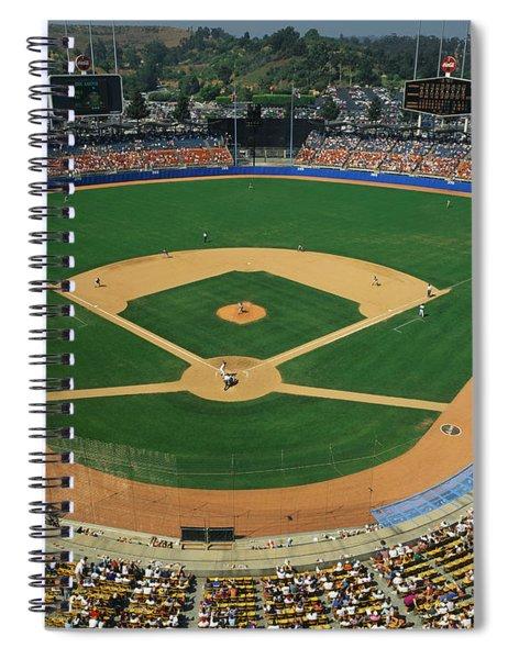 Dodger Stadium Spiral Notebook
