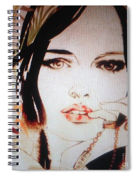 Does She Love Me C2018 Spiral Notebook