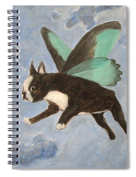 Dog Fairy  Spiral Notebook