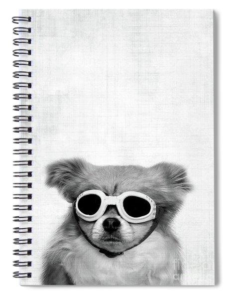 Goggles  Spiral Notebook