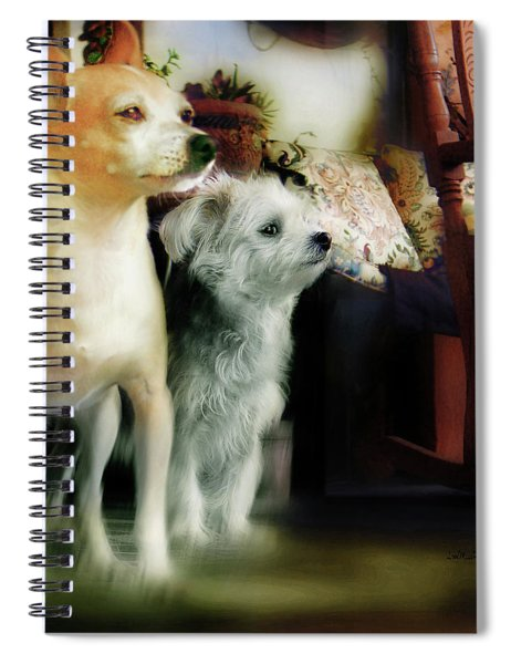 The Real Chiqui And Heichel Spiral Notebook