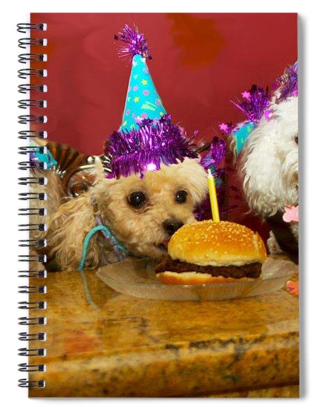Dog Party Spiral Notebook