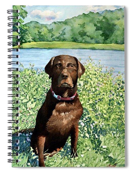 Dog Portrait #1 Spiral Notebook