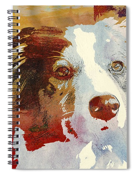 Dog Portrait Spiral Notebook