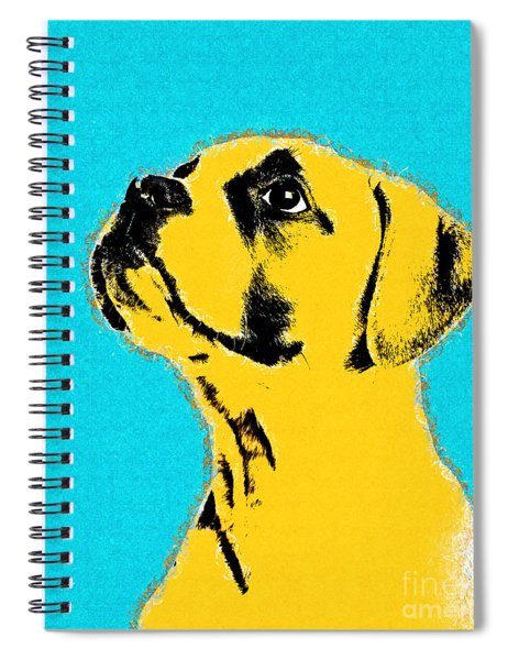 Dog Thing - 01c15a9 Spiral Notebook