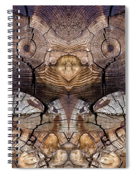 Dog-wood Owl Spiral Notebook