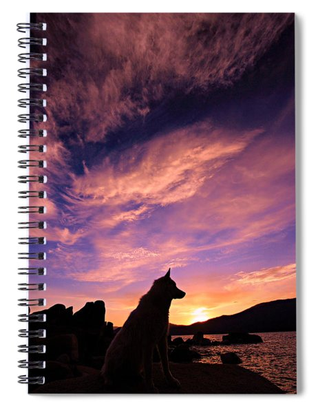 Dogs Dream Too  Spiral Notebook