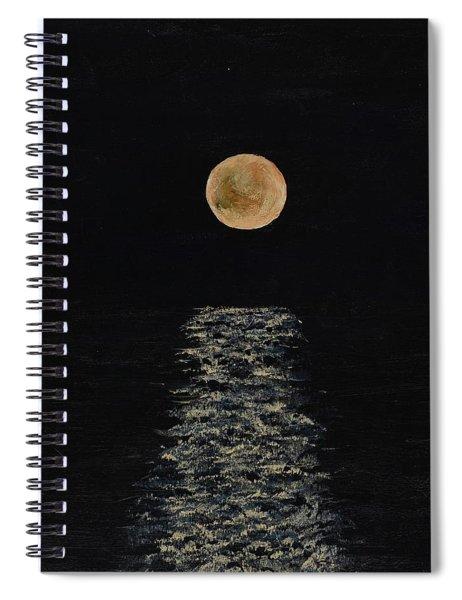 Doha Moonrise Spiral Notebook