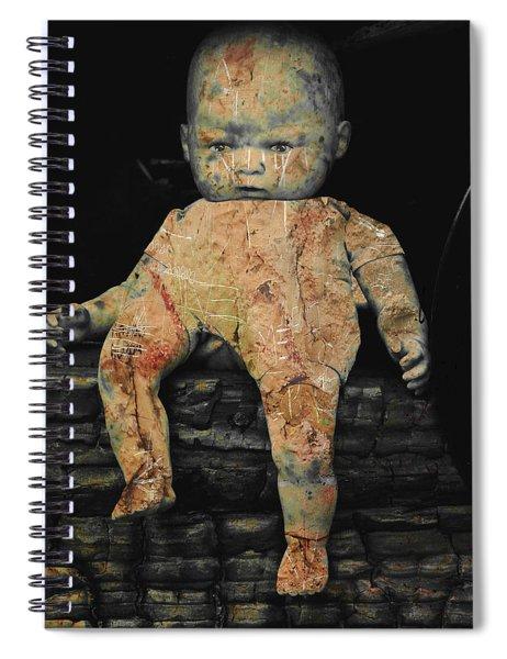 Doll R Spiral Notebook