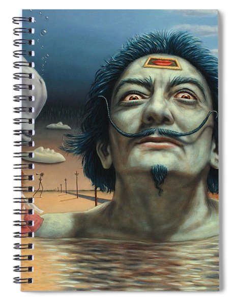 Dolly In Dali-land Spiral Notebook