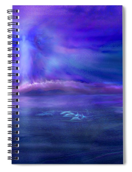 Dolphin Dreaming Spiral Notebook