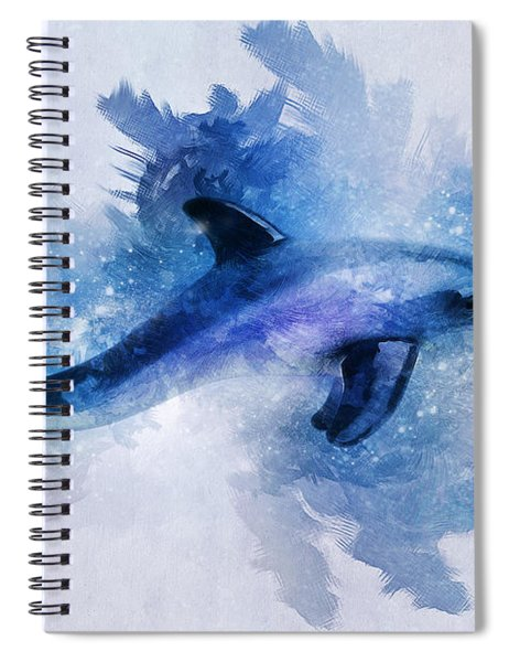 Dolphins Freedom Spiral Notebook