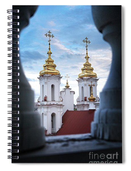 Domes #3347 Spiral Notebook
